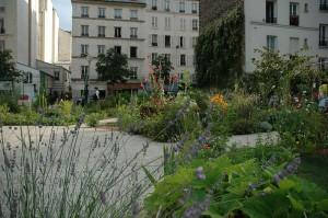 Jardin partagé Le Poireau Agile (Paris 10e)